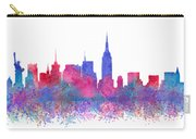 Watercolour Splashes New York City Skylines Carry-all Pouch