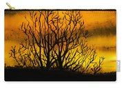 Watercolour Sunset Carry-all Pouch