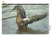 Watercovered Wingflapper Carry-all Pouch