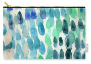 Waterfall 2- Abstract Art By Linda Woods Carry-all Pouch