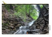 Waterfall And Natural Gas Carry-all Pouch