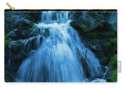 Waterfall At Finch Arboretum Carry-all Pouch