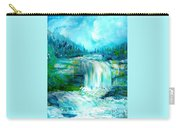 Waterfall At Pont Espagna Carry-all Pouch