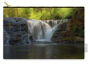 Waterfall At Sweet Creek Hiking Trail Complex Carry-all Pouch