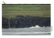 Waterfall At The Cliffs Of Moher Carry-all Pouch