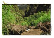 Waterfall At The Iao Needle Carry-all Pouch