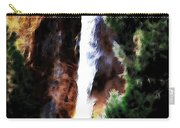 Waterfall At Yosemite Carry-all Pouch