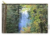 Waterfall Beyond The Trees Carry-all Pouch
