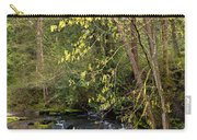 Waterfall In A Park, Whatcom Creek Carry-all Pouch