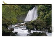 Waterfall In La Fortuna Carry-all Pouch