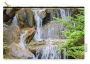 Waterfall In The Vandusen Botanical Garden 1 Carry-all Pouch