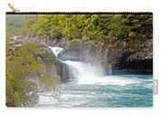 Waterfall In Vicente Perez Rosales National Park Near Puerto Montt-chile  Carry-all Pouch