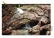 Waterfall Into A Cave Carry-all Pouch