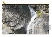 Waterfall Into The Feather River Carry-all Pouch