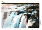 Waterfall Scene For Mia Parker - Sutcliffe L B Carry-all Pouch