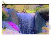 Waterfall Spring Colors Carry-all Pouch