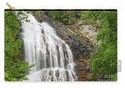 Waterfall With Green Leaves Carry-all Pouch