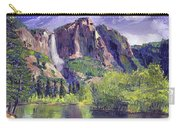 Waterfall Yosemite Carry-all Pouch
