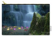 Waterfall02 Carry-all Pouch by Carlos Caetano