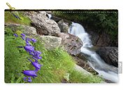Waterfalls And Bluebells Carry-all Pouch