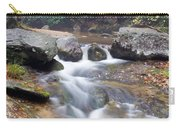Waterfalls At Roaring River Stone Mountain Carry-all Pouch