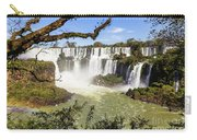 Waterfalls In Frame Carry-all Pouch