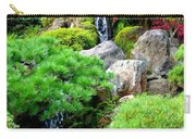 Waterfalls In Japanese Garden Carry-all Pouch