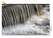 Waterflow Waterfall On A Small Creek Carry-all Pouch