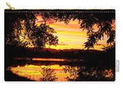 Waterfront Spectacular Sunset Carry-all Pouch