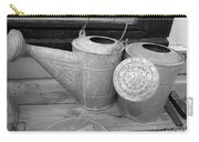 Watering Cans And Tubs B  W Carry-all Pouch