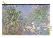 Waterlilies, Cluster Of Grass Carry-all Pouch