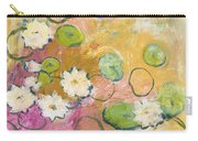 Waterlillies At Dusk Carry-all Pouch by Jennifer Lommers