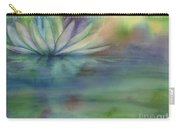 Waterlily Carry-all Pouch by Amy Kirkpatrick