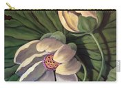Waterlily Like A Clock Carry-all Pouch