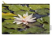Waterlily On The Water Carry-all Pouch