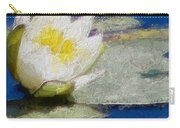 Waterlily Reflections Carry-all Pouch