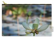 Waterlily Wash Horizontal Carry-all Pouch
