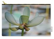 Waterlily Wash  Vertical Carry-all Pouch
