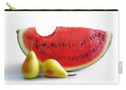 Watermelon And Pears Carry-all Pouch