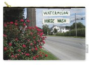 Watermelon Horse Wash Carry-all Pouch