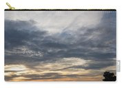 Waterscape In Gray And Yellow Carry-all Pouch