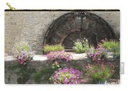 Waterwheel In Bayeux Carry-all Pouch