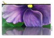 Watery African Violet Reflection Carry-all Pouch