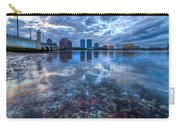 Watery Treasure Carry-all Pouch by Debra and Dave Vanderlaan