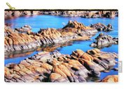 Watson Lake At Prescott Az Carry-all Pouch by Dominic Piperata
