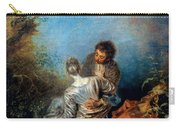 Watteau: False Step, C1717 Carry-all Pouch