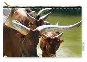 Watusi Cattle Carry-all Pouch