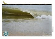 Wave At Sandbridge Virginia Carry-all Pouch