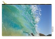 Wave Breaking At Makena Carry-all Pouch