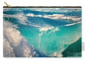 Waves Abound, Sunset Beach, Hawai'i Carry-all Pouch